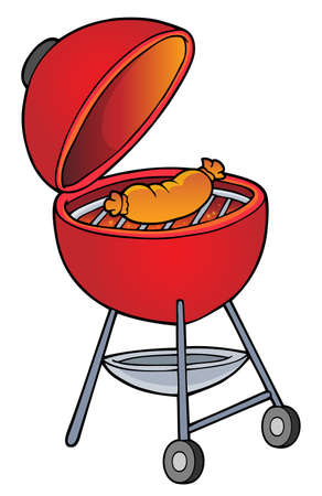 Barbeque topic image 1 - eps10 vector illustration.