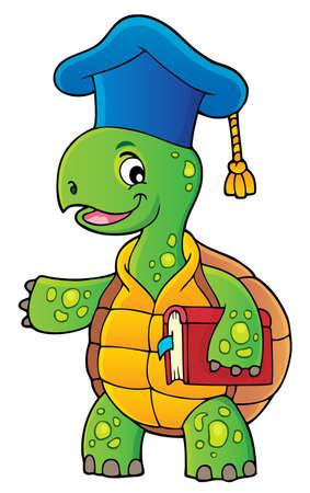 Turtle teacher theme image