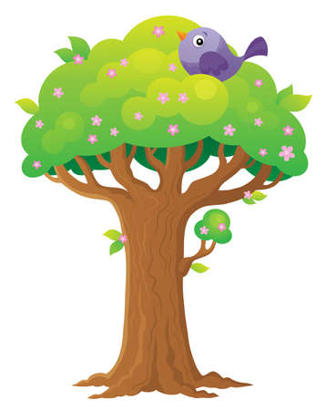 Tree topic image 3 - eps10 vector illustration.