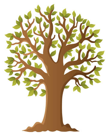 Tree topic image 5 - eps10 vector illustration.