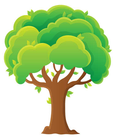 Tree topic image 8 - eps10 vector illustration. 写真素材 - 114771243