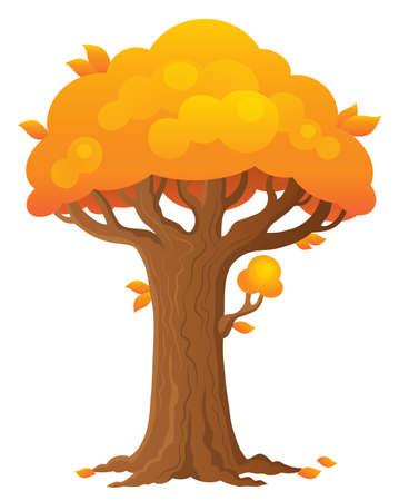 Tree topic image 2 - eps10 vector illustration.