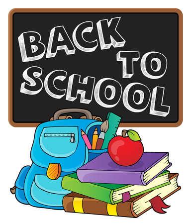 Back to school design 2 - eps10 vector illustration.