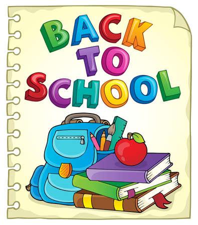 Back to school design 4 - eps10 vector illustration.