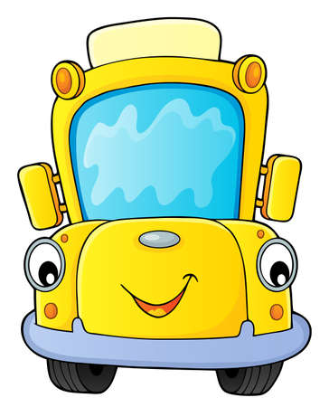 School bus thematics image 4 - eps10 vector illustration.