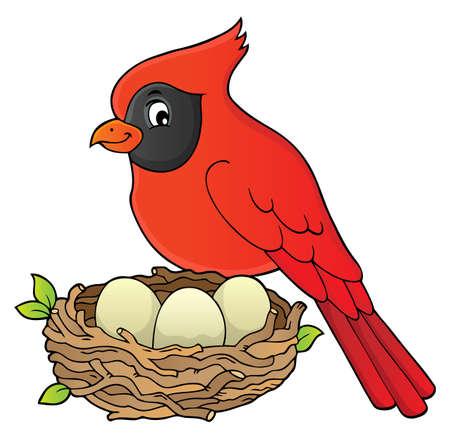 Image de sujet d'oiseau 8 - illustration vectorielle eps10.