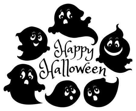 Happy Halloween composition image 6 - eps10 vector illustration.