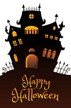 Happy Halloween composition image 9 - eps10 vector illustration.