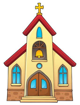 Thème de la construction de l'église
