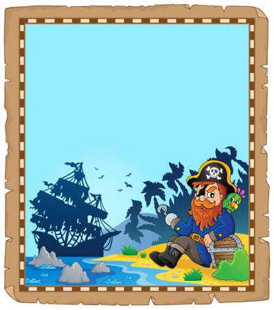 Pirate vector illustration.