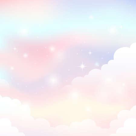 Abstract sky theme image 1 - eps10 vector illustration. Иллюстрация