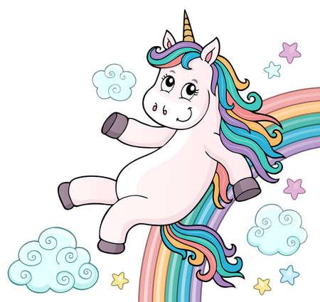 Cute unicorn topic image