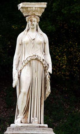 Roman Lady Stock Photo