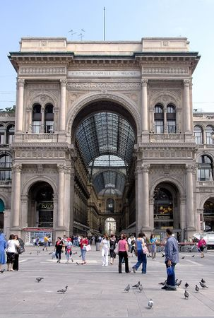La Galleria, Milan, Italy Stock Photo