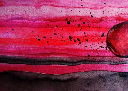 cyberspace: Cyberspace - watercolor by the photographer -