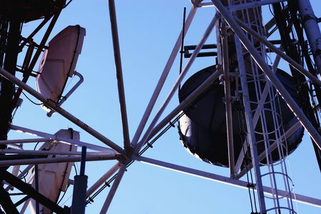 electromagnetic: Communication Antenna - Electromagnetic Pollution -
