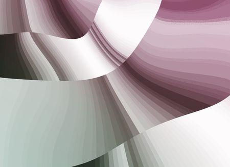 amorphous: Soft waves Stock Photo