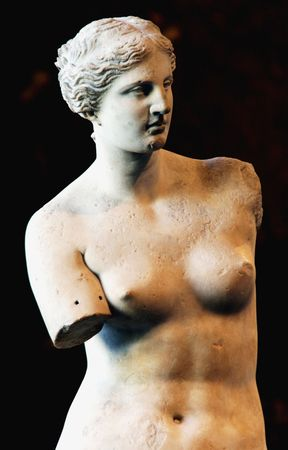 beings: Venus de Milo statue