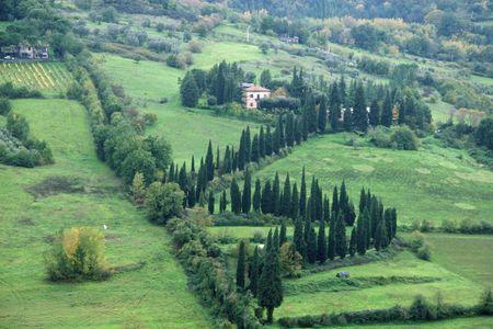 orvieto: Paisajes de Italia - Orvieto, Umbr�a Foto de archivo