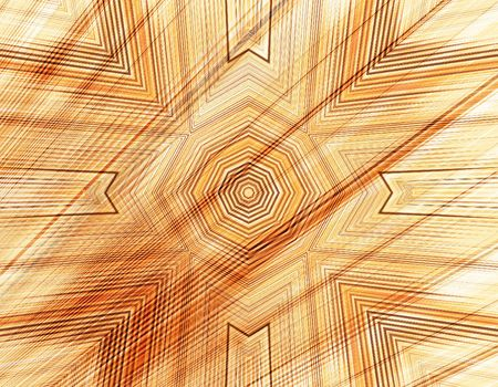 amorphous: Wooden abstract