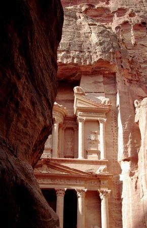 petra  jordan: The Treasury of Petra, Jordan