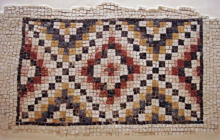 artefact: Ancient mosaic - Mount Nebo, Jordan