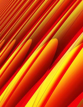 Rouge et jaune  Banque d'images
