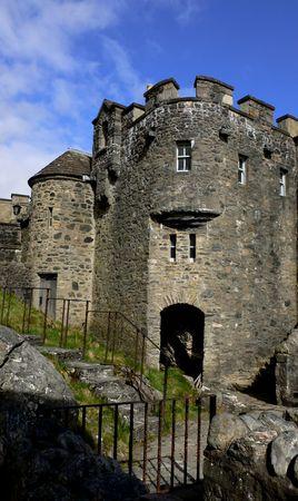 LEcosse, montagne, château dEilean Donan