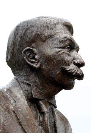 Pierre de Coubertin, father of the modern Olympic movement. Atlanta, Georgia. Stock Photo - 429442