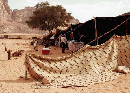 Tente des Bédouins, Wadi Rum, Jordanie