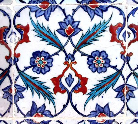 Ancienne céramique. Istanbul, Turquie