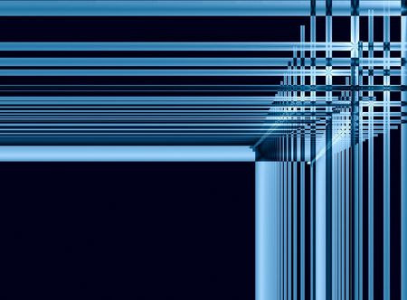 amorphous: Blue frame - space for text -
