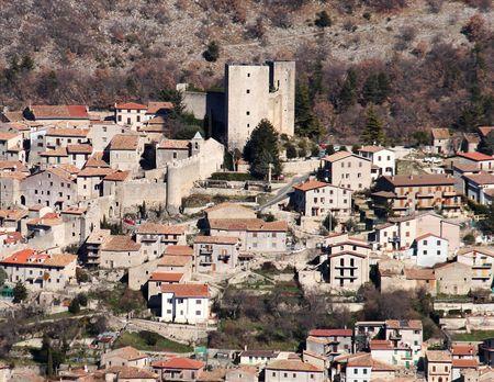 abruzzo: Pereto, Abruzzo, Italy