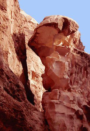 Rock desert, Little Petra, Jordan, Middle East photo
