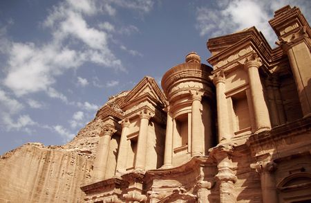 historical sites: The Monastery, Petra, Jordan