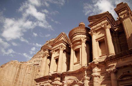 petra  jordan: The Monastery, Petra, Jordan