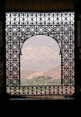 view through: Morocco through the window
