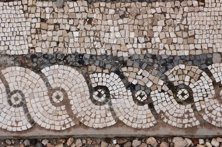 archeology: Ancient Roman mosaics, Libya Stock Photo