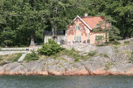 rd: Villa in arcipelago di Stoccolma (Sk�rg�rd), Svezia  Archivio Fotografico