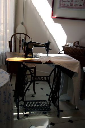 Vintage sewing room - la Pedrera, Barcelona