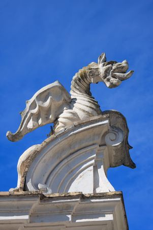 drago alato: Il drago alato di Villa Borghese, Roma