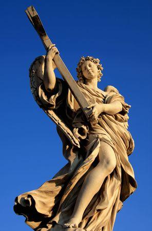 Angel, Castel SantAngelo, Rome  Stock Photo