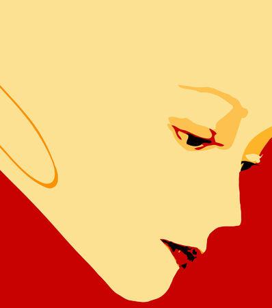 vector - portrait Illustration