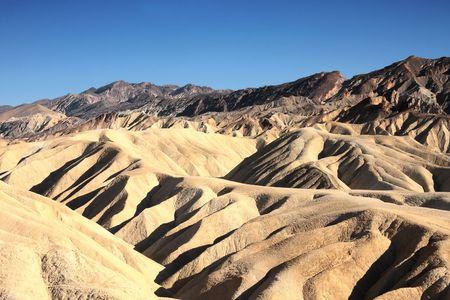 phenomena: Zabriskie Point, Death Valley National Park, California, USA