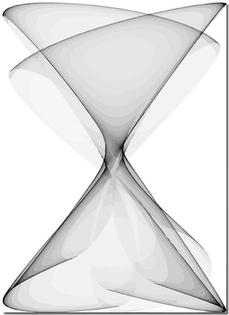 sandglass: vector - seamless abstract  hourglass  Illustration