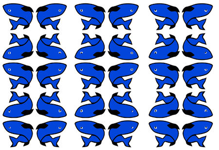 vector - fish background Stock Vector - 4295405