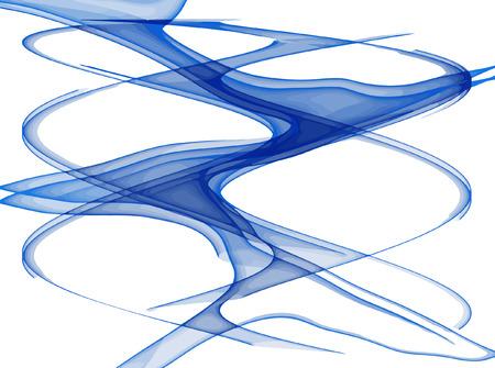 vector - flowing lines  Stock Vector - 4379639