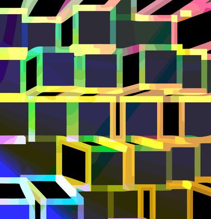 vector - geometric perspective Vector
