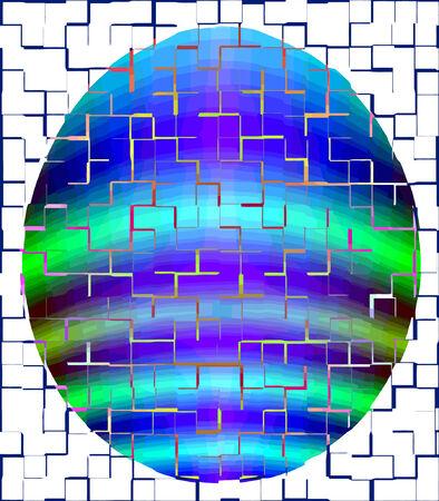 vector - in the grid Vector