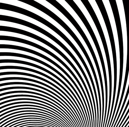 vector - black and white art view Vector